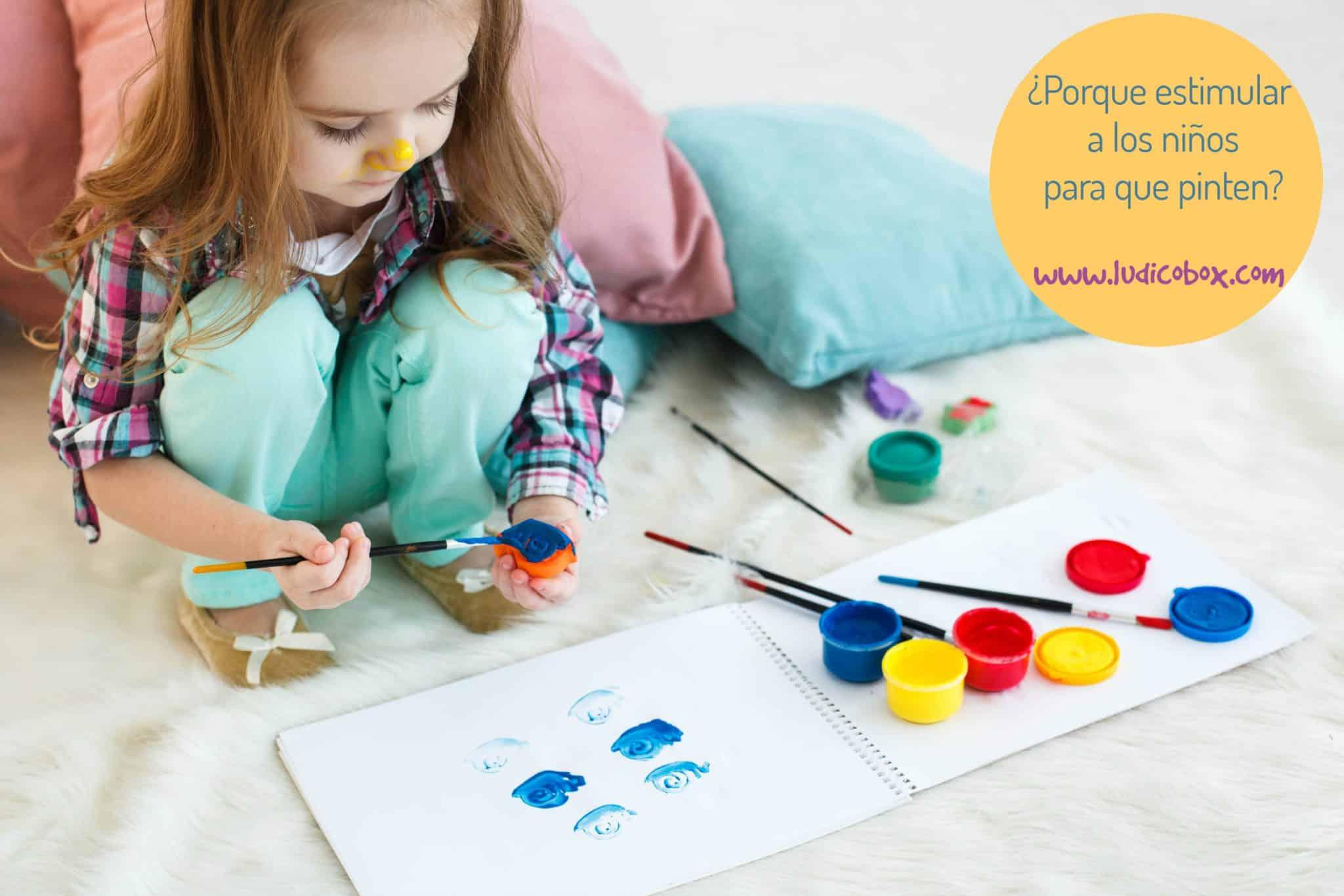 Pourquoi peindre à la maternelle?