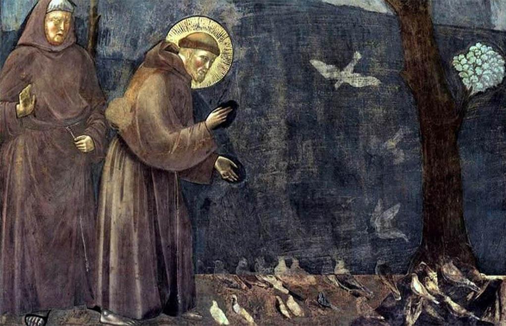 Quel saint parlait aux animaux?