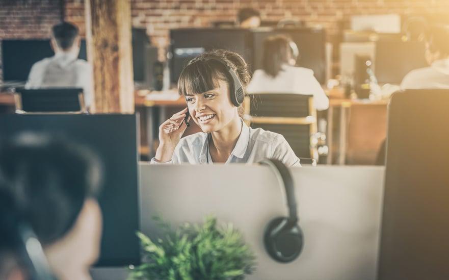 Comment se passe le travail dans un centre d'appels?